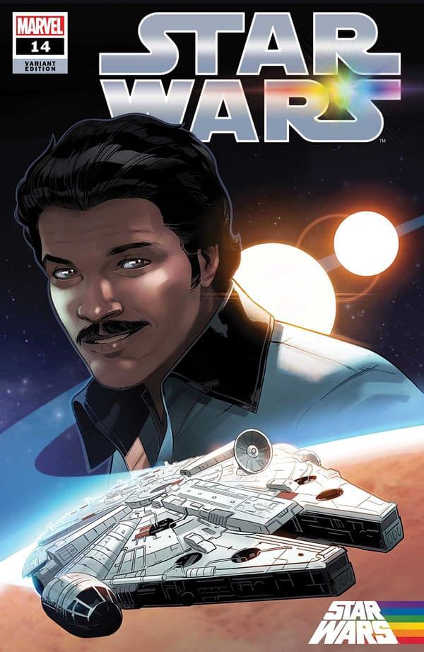 Cover image for STAR WARS #14 BYRNE PRIDE VAR