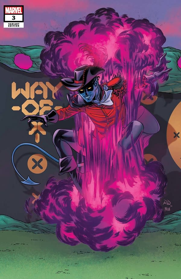 Cover image for WAY OF X #3 DAUTERMAN CONNECTING VAR