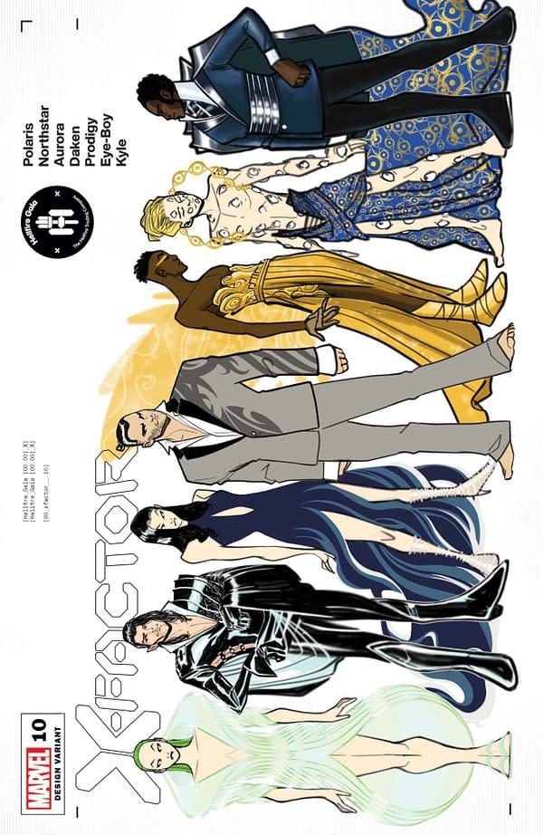 Cover image for X-FACTOR #10 BALDEON CHARACTER DESIGN VAR GALA