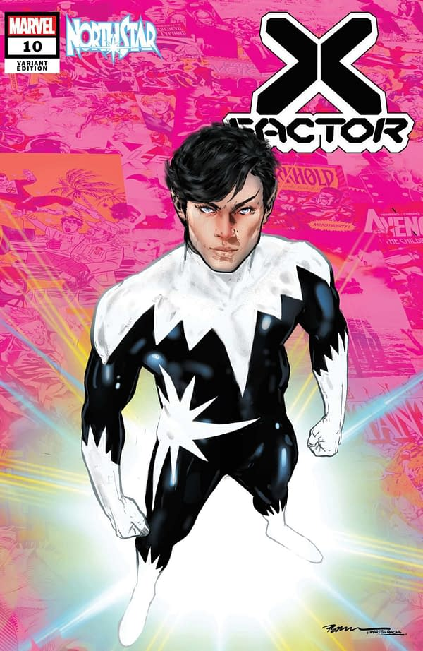 Cover image for X-FACTOR #10 JIMENEZ PRIDE MONTH VAR GALA