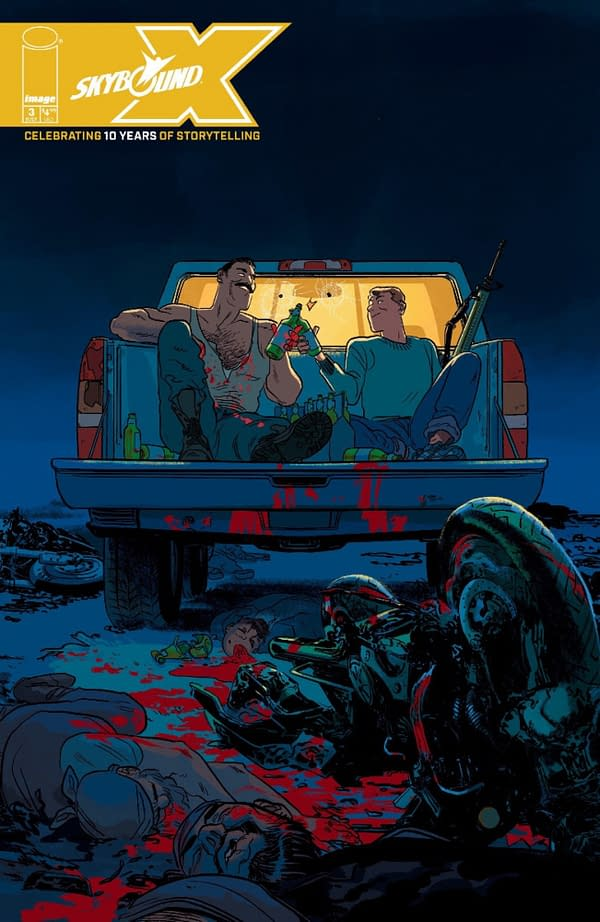 Skybound X #3 With Science Dog And The Walking Dead
