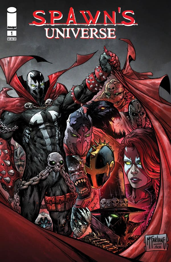 Todd McFarlane's Spawn Universe #1 Has Over 200,000 Orders
