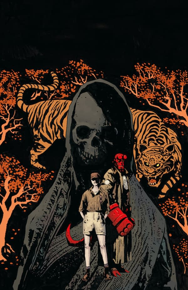 Hellboy & The BPRD Moves from Fearful Fifties To Swinging Sixties