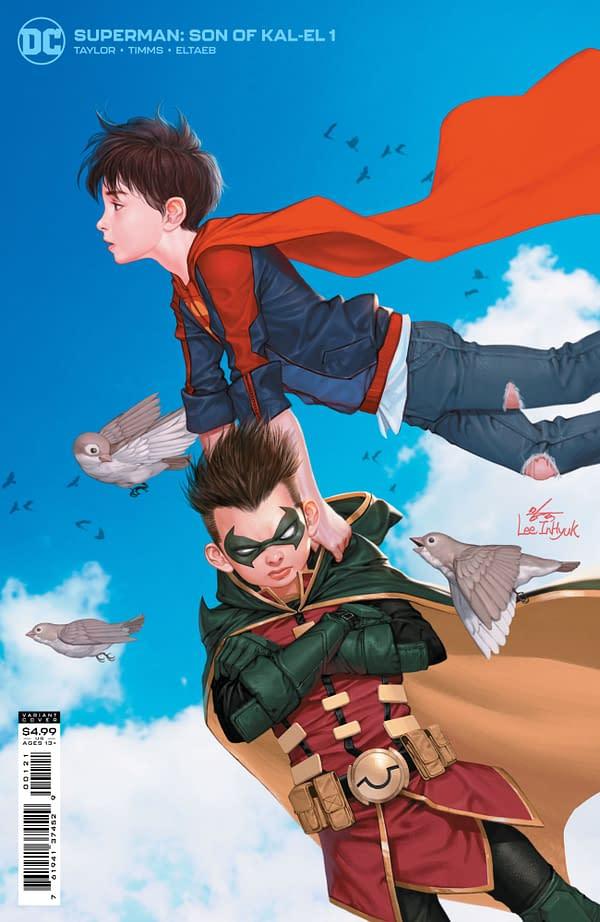 Cover image for SUPERMAN SON OF KAL-EL #1 CVR B INHYUK LEE CARD STOCK VAR
