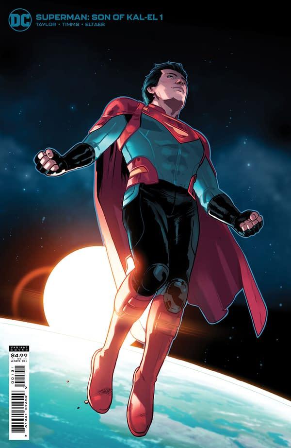 Cover image for SUPERMAN SON OF KAL-EL #1 CVR C STEPHEN BYRNE CARD STOCK VAR