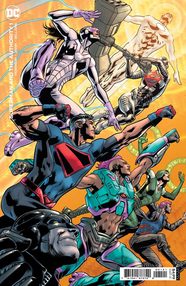 Cover image for SUPERMAN AND THE AUTHORITY #1 (OF 4) CVR B BRYAN HITCH CARD STOCK VAR