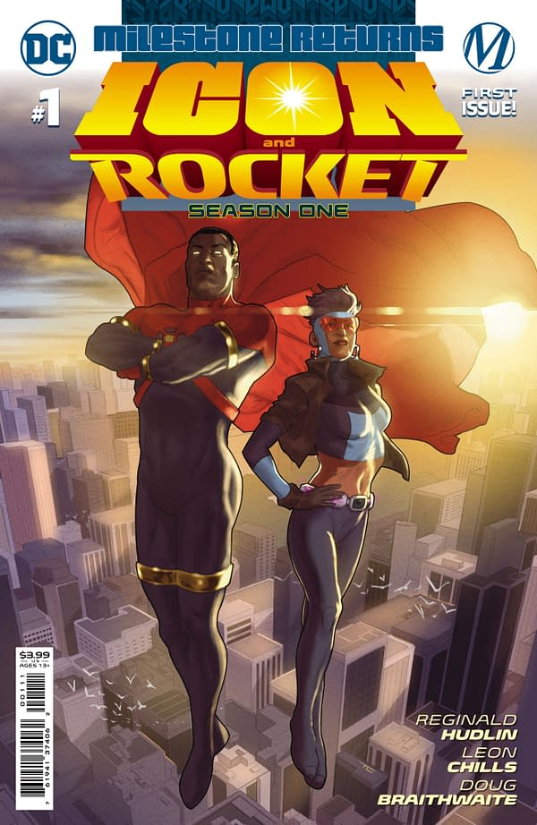 Cover image for ICON & ROCKET SEASON ONE #1 (OF 6) CVR A TAURIN CLARKE