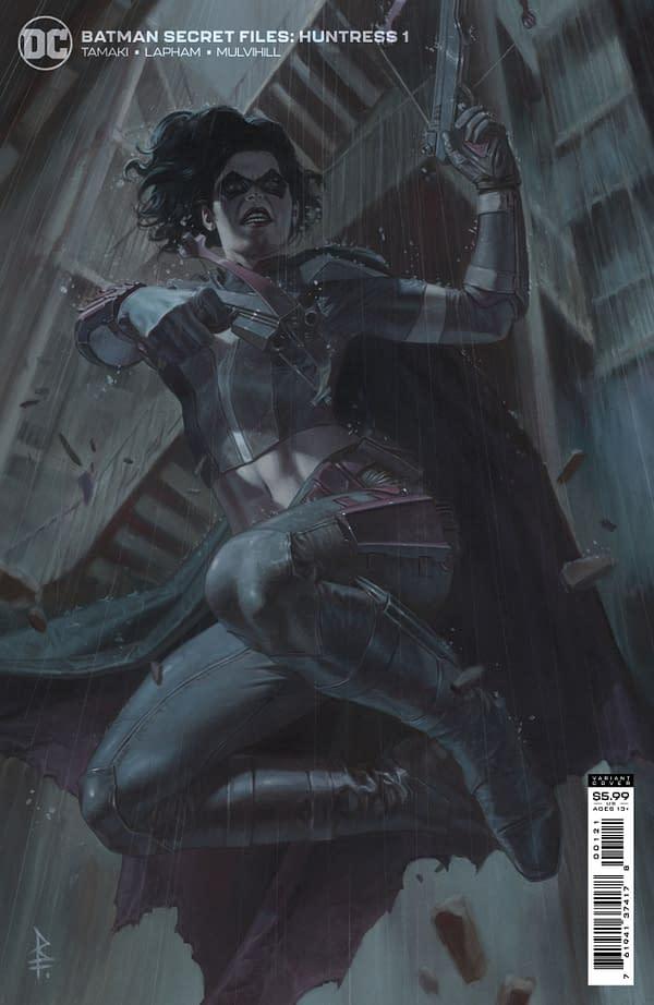Cover image for BATMAN SECRET FILES HUNTRESS #1 (ONE SHOT) CVR B RICCARDO FEDERICI CARD STOCK VAR