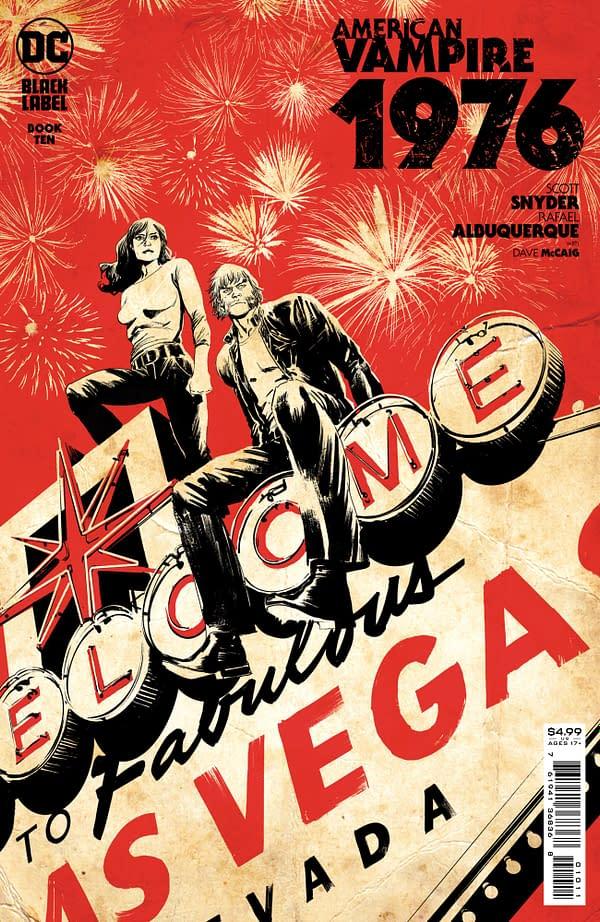 Cover image for AMERICAN VAMPIRE 1976 #10 (OF 10) CVR A RAFAEL ALBUQUERQUE (MR)