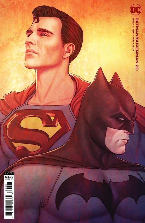 Cover image for BATMAN SUPERMAN #20 CVR B JENNY FRISON CARD STOCK VAR