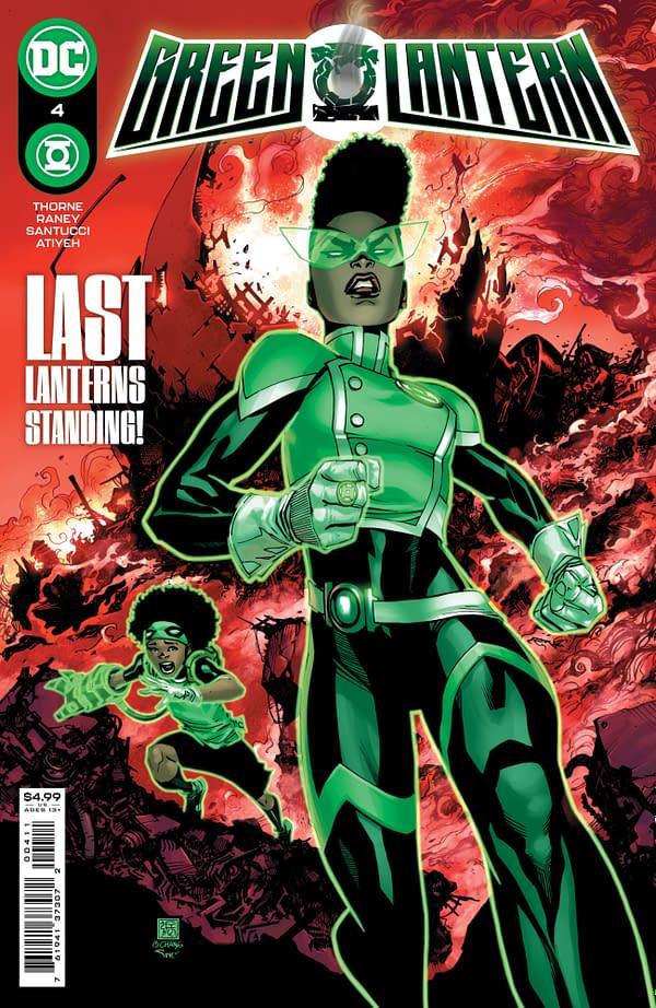 Cover image for GREEN LANTERN #4 CVR A BERNARD CHANG