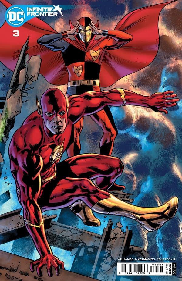Cover image for INFINITE FRONTIER #3 (OF 6) CVR B BRYAN HITCH CARD STOCK VAR
