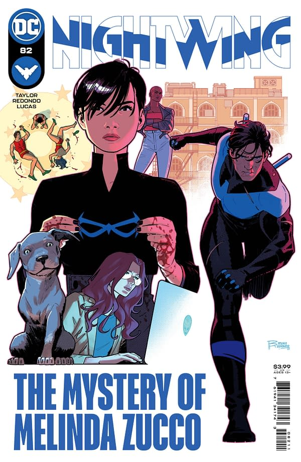 Cover image for NIGHTWING #82 CVR A BRUNO REDONDO