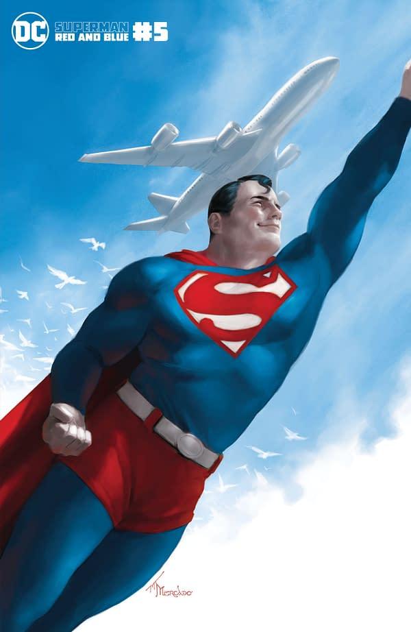 Cover image for SUPERMAN RED & BLUE #5 (OF 6) CVR C MIGUEL MERCADO VAR