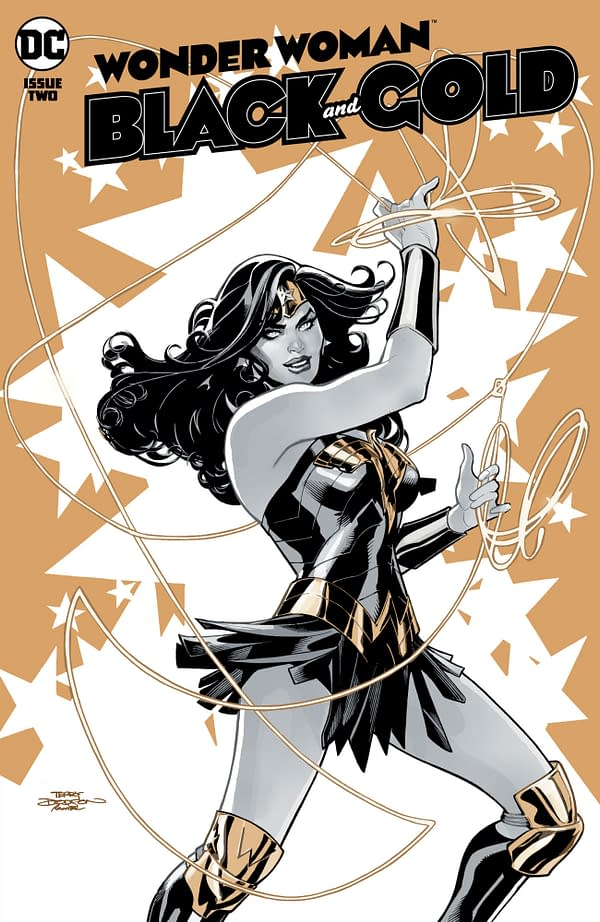 Cover image for WONDER WOMAN BLACK & GOLD #2 (OF 6) CVR A TERRY DODSON