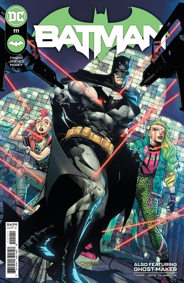 Cover image for BATMAN #111 CVR A JORGE JIMENEZ