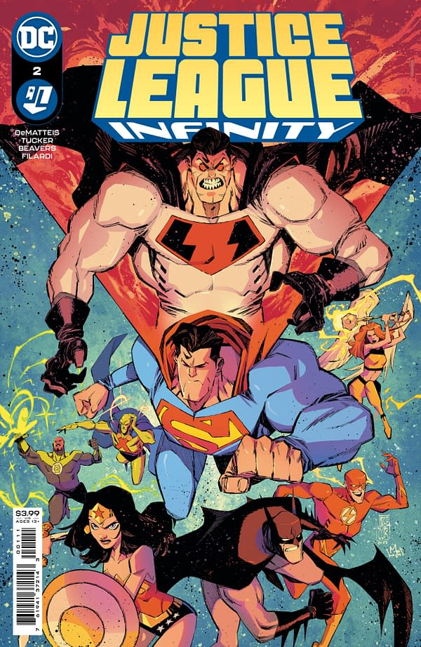 Cover image for JUSTICE LEAGUE INFINITY #2 (OF 7)