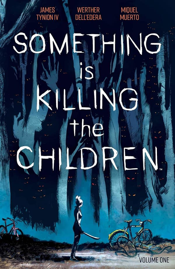 Something is Killing the Children #1. Credit Boom!