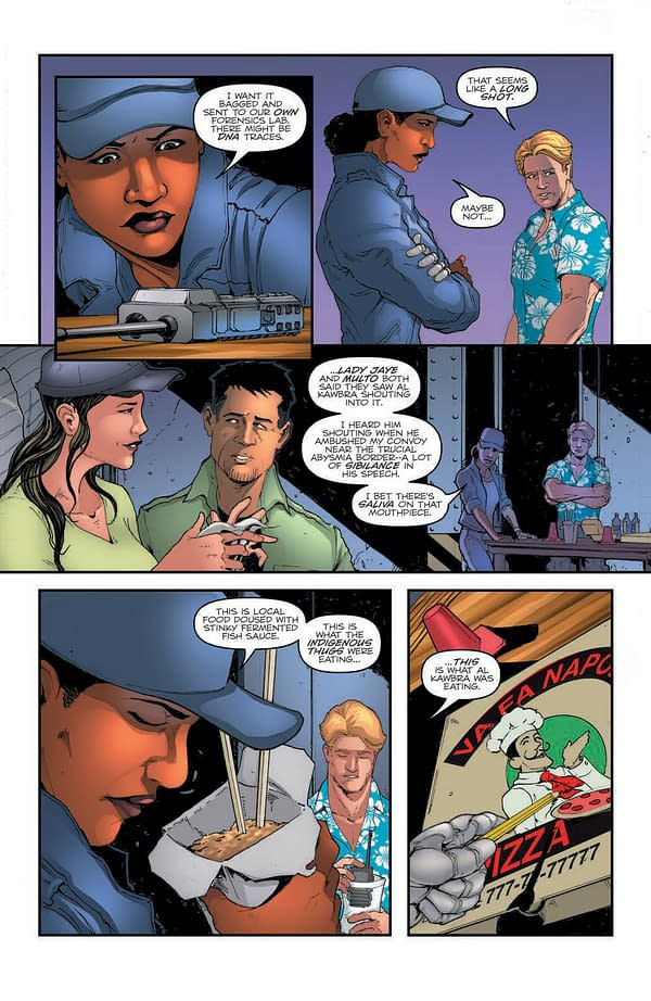 Interior preview page from GI JOE A REAL AMERICAN HERO #284 CVR A ANDREW GRIFFITH