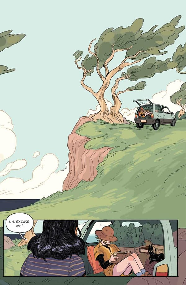 Interior preview page from MAMO #1 (OF 5) CVR A MILLEDGE