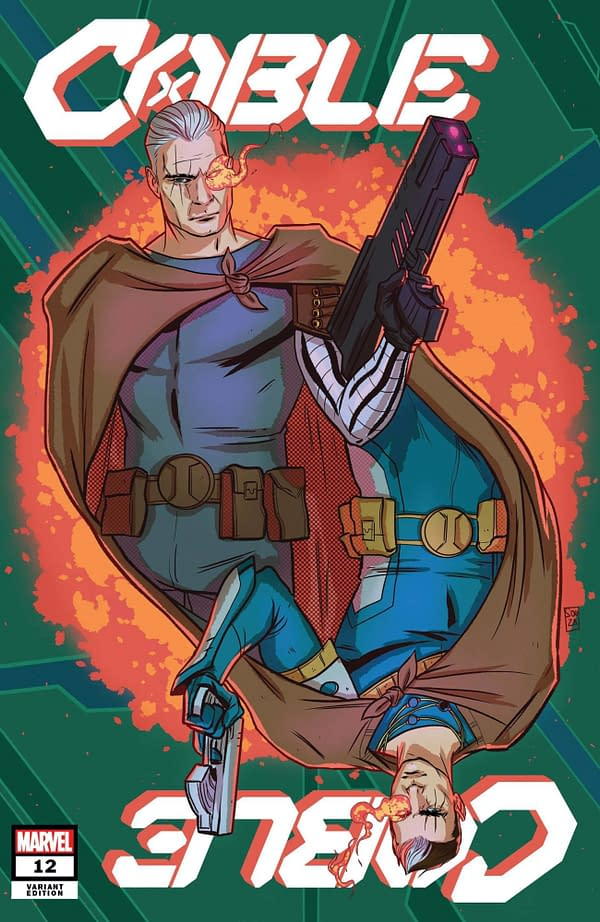 Cover image for CABLE #12 SOUZA VAR