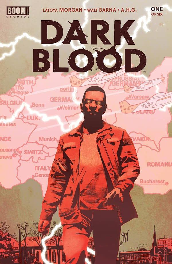 Cover image for DARK BLOOD #1 (OF 6) CVR A DE LANDRO