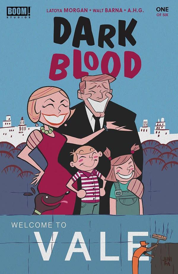 Cover image for DARK BLOOD #1 (OF 6) CVR B BA