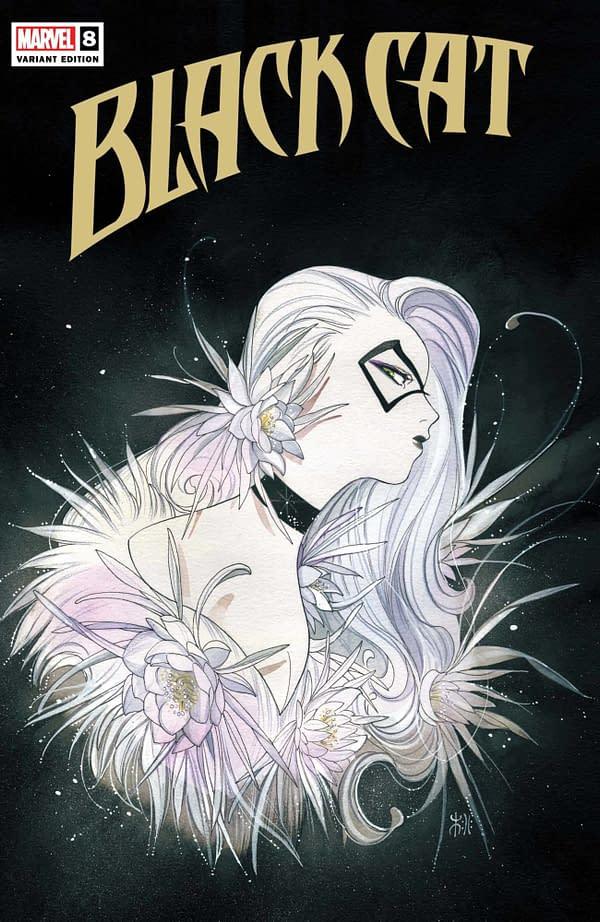 Cover image for BLACK CAT #8 MOMOKO VAR