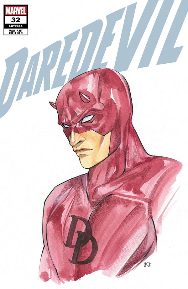 Cover image for DAREDEVIL #32 MOMOKO MARVEL ANIME VAR