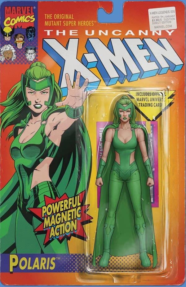 Cover art for X-MEN LEGENDS #5 CHRISTOPHER ACTION FIGURE VAR