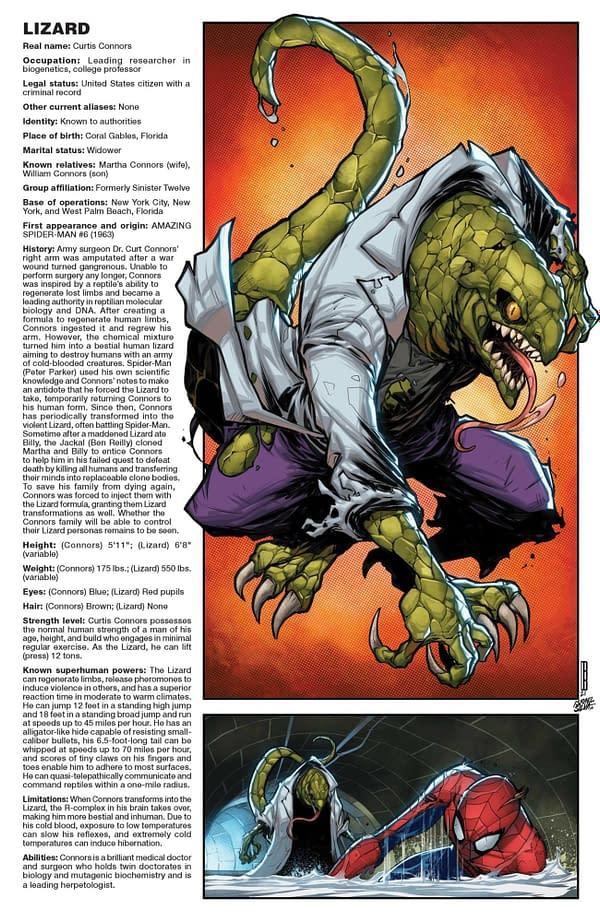 Cover image for AMAZING SPIDER-MAN #71 BALDEON HANDBOOK VAR SINW