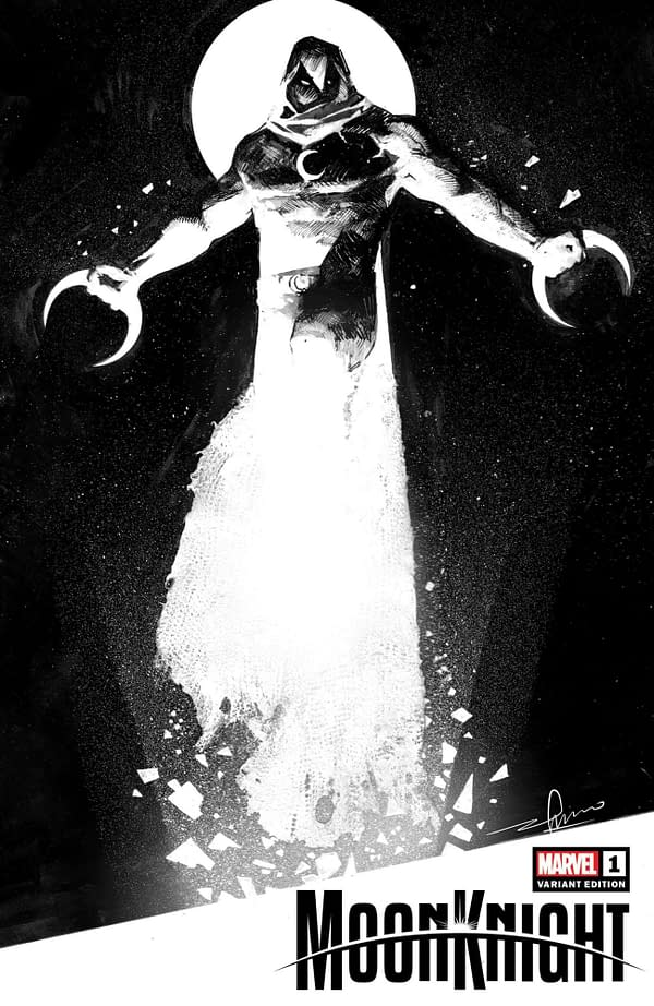 Cover image for MOON KNIGHT #1 ZAFFINO VAR