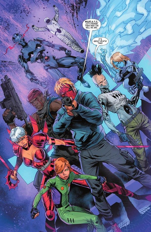 DC Comics Promises That WildC.A.T.S. Will Return (Spoilers)