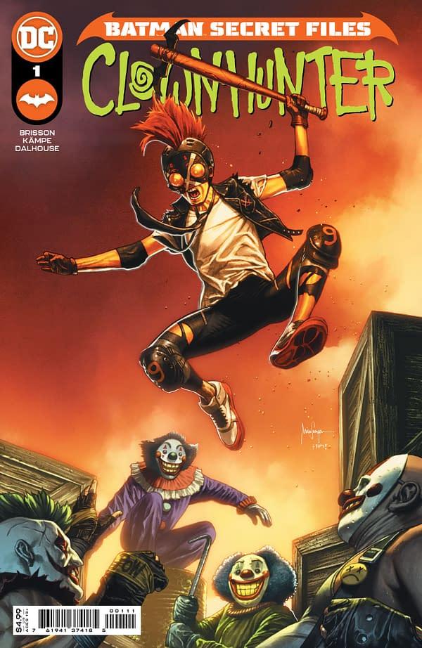 Cover image for BATMAN SECRET FILES CLOWNHUNTER #1 (ONE SHOT) CVR A MICO SUAYAN