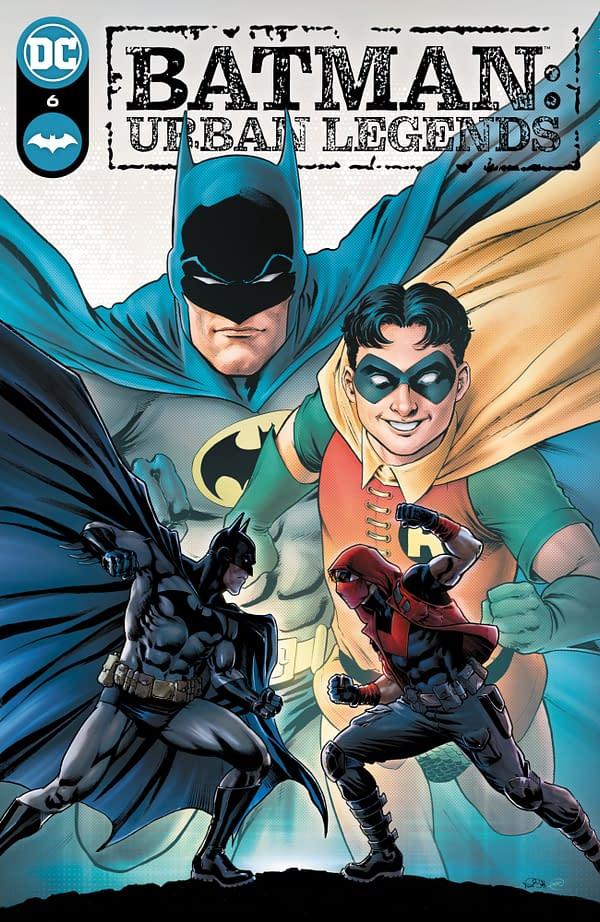 Cover image for BATMAN URBAN LEGENDS #6 CVR A NICOLA SCOTT