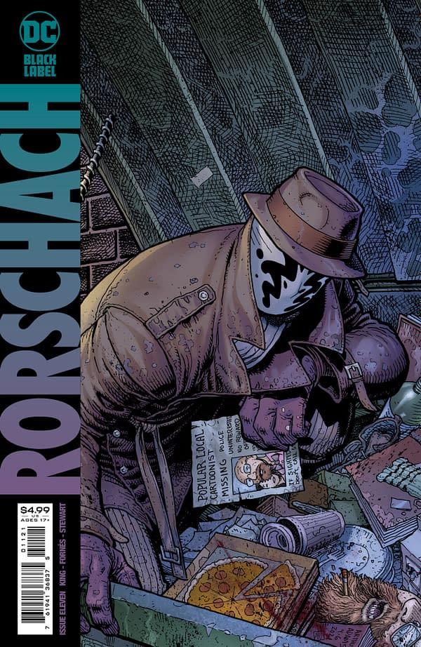 Cover image for RORSCHACH #11 (OF 12) CVR B ARTHUR ADAMS VAR (MR)