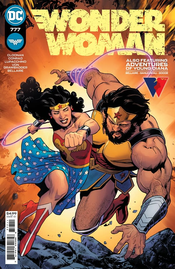 Cover image for WONDER WOMAN #777 CVR A TRAVIS MOORE