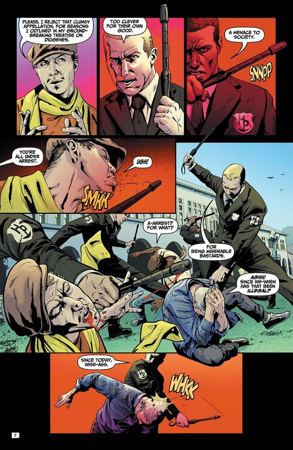 FREE: Happy Hour #1 In Full By Peter Milligan & Michael Montenant