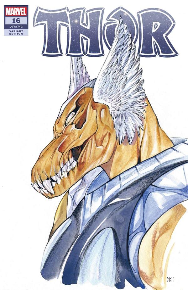 Cover image for THOR #16 MOMOKO MARVEL ANIME VAR