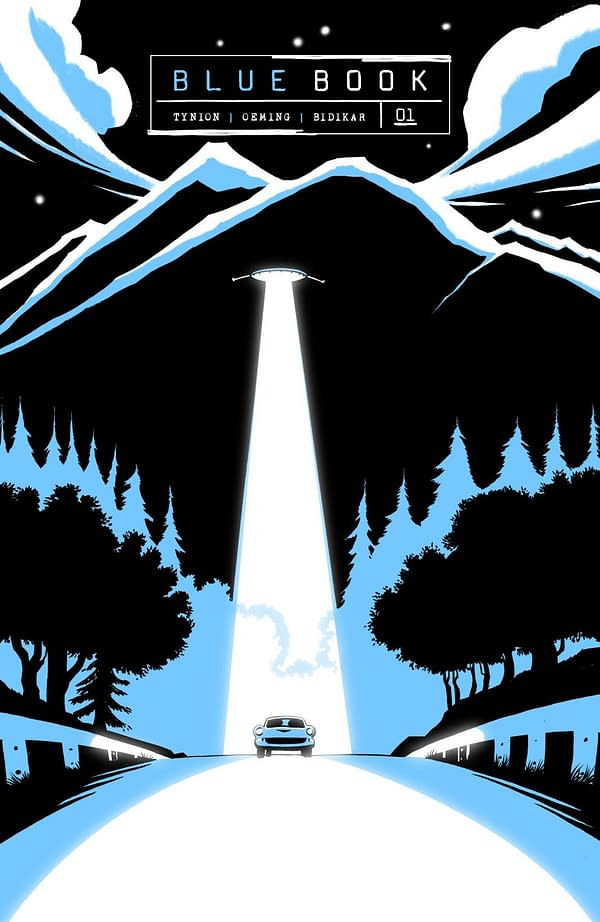 James Tynion IV & Michael Oeming's Blue Book - Substack in September