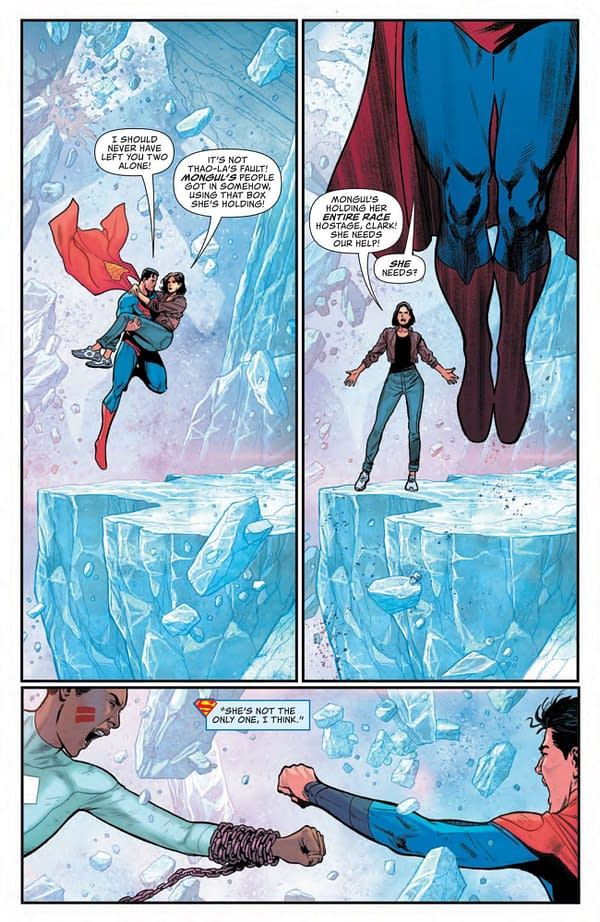 Interior preview page from ACTION COMICS #1035 CVR A DANIEL SAMPERE