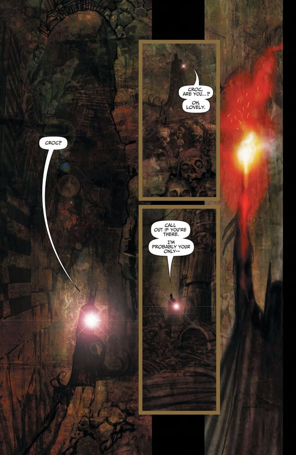 Interior preview page from BATMAN REPTILIAN #4 (OF 6) CVR A LIAM SHARP (MR)