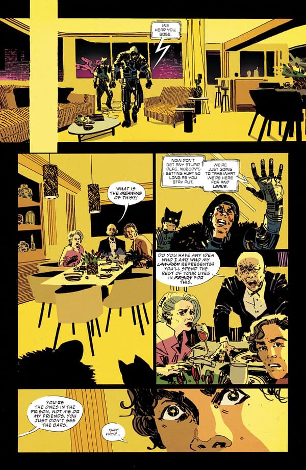 Interior preview page from BATMAN SECRET FILES MIRACLE MOLLY #1 (ONE SHOT) CVR A LITTLE THUNDER (FEAR STATE)