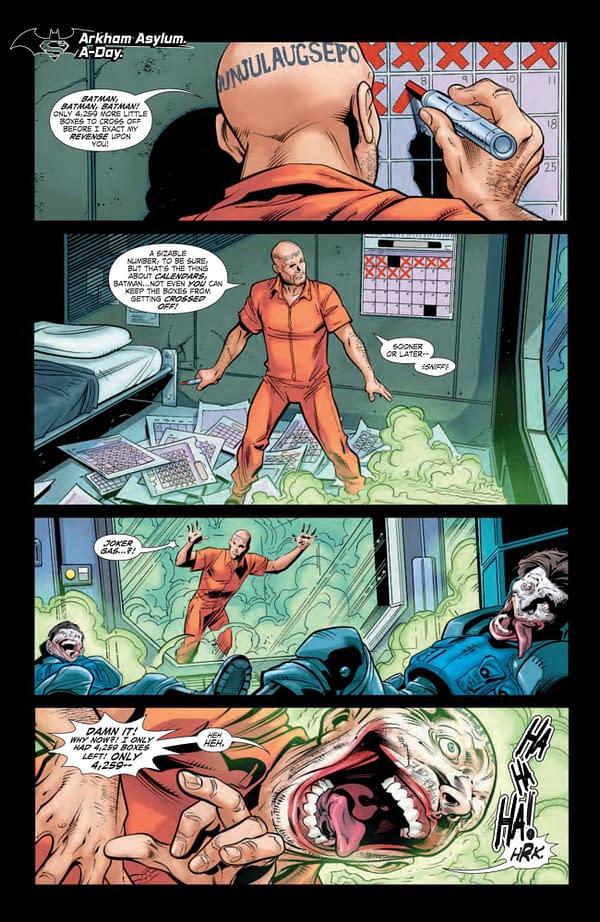 Interior preview page from BATMAN SUPERMAN #22 CVR A IVAN REIS & DANNY MIKI