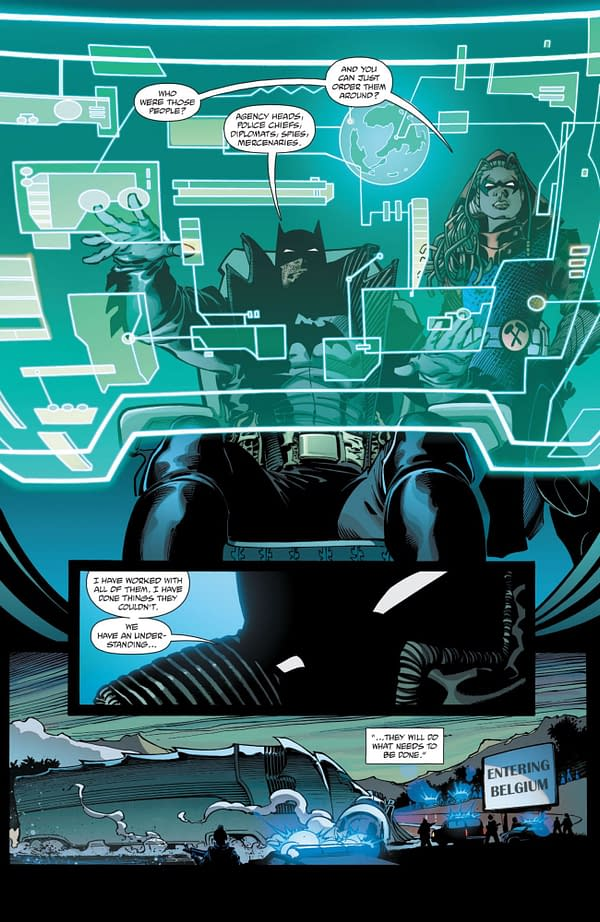 Interior preview page from BATMAN THE DETECTIVE #5 (OF 6) CVR A ANDY KUBERT