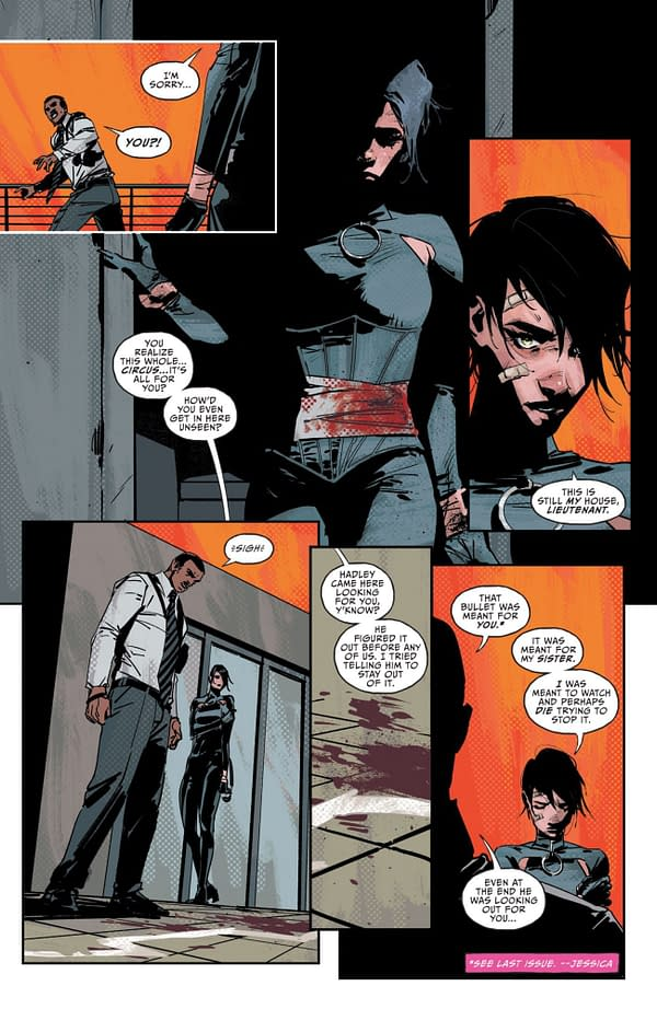 Interior preview page from CATWOMAN #35 CVR A YANICK PAQUETTE (FEAR STATE)