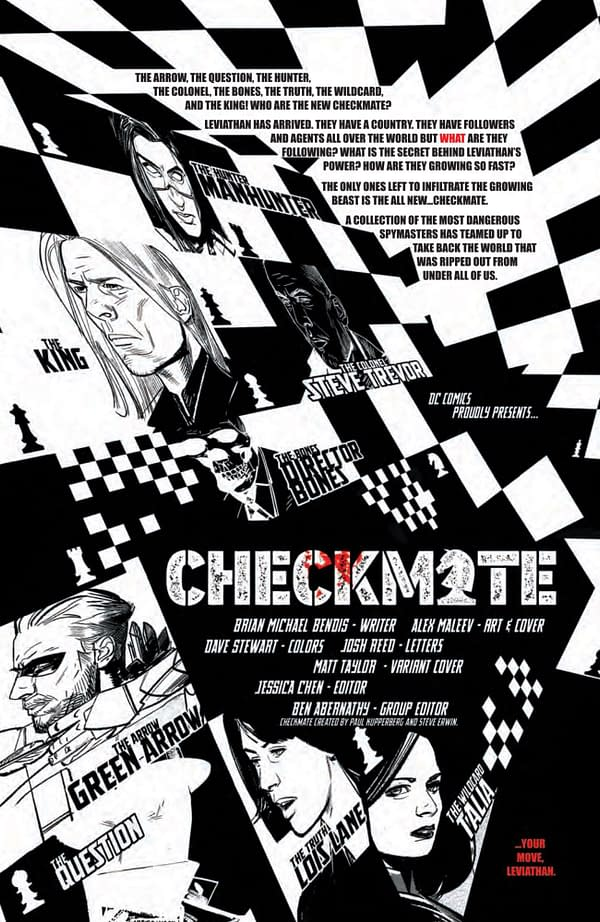 Interior preview page from CHECKMATE #4 (OF 6) CVR A ALEX MALEEV