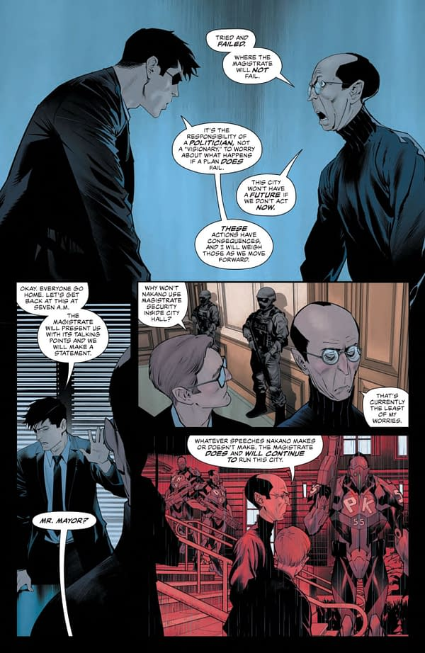 Interior preview page from DETECTIVE COMICS #1043 CVR A DAN MORA (FEAR STATE)