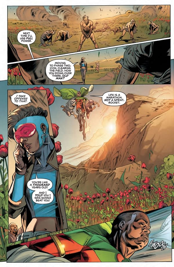 Interior preview page from ICON & ROCKET SEASON ONE #3 (OF 6) CVR A TAURIN CLARKE