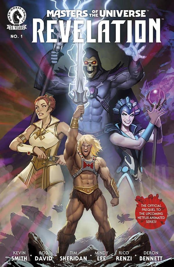 MOTU Revelations #1 Main Cover